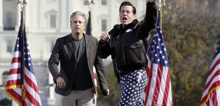 Jon Stewart i Stephen Colbert