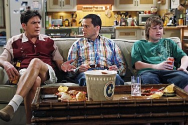 Two and a Half Men, CBS