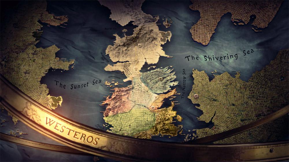 Konceptualna skica karte Westerosa (artofthetitle.com)