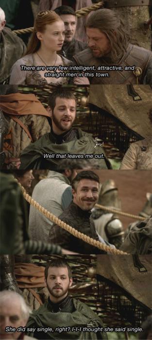 Renly Baratheon je nevernude