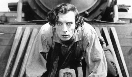 Buster Keaton u filmu The General, 1926.